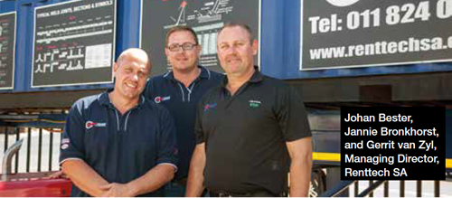 Renttech Top In Welding Rentals