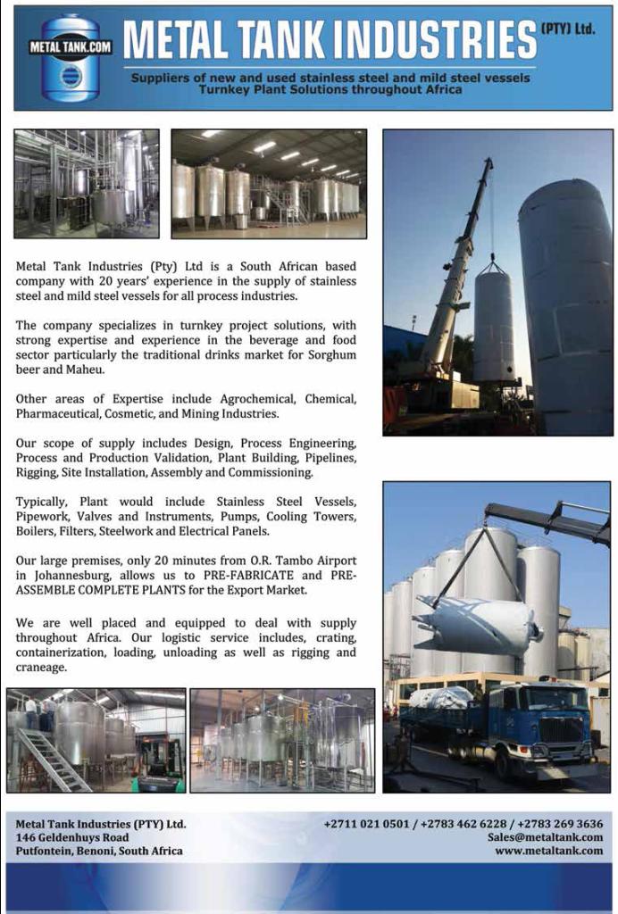 Metal Tank Industries Advert