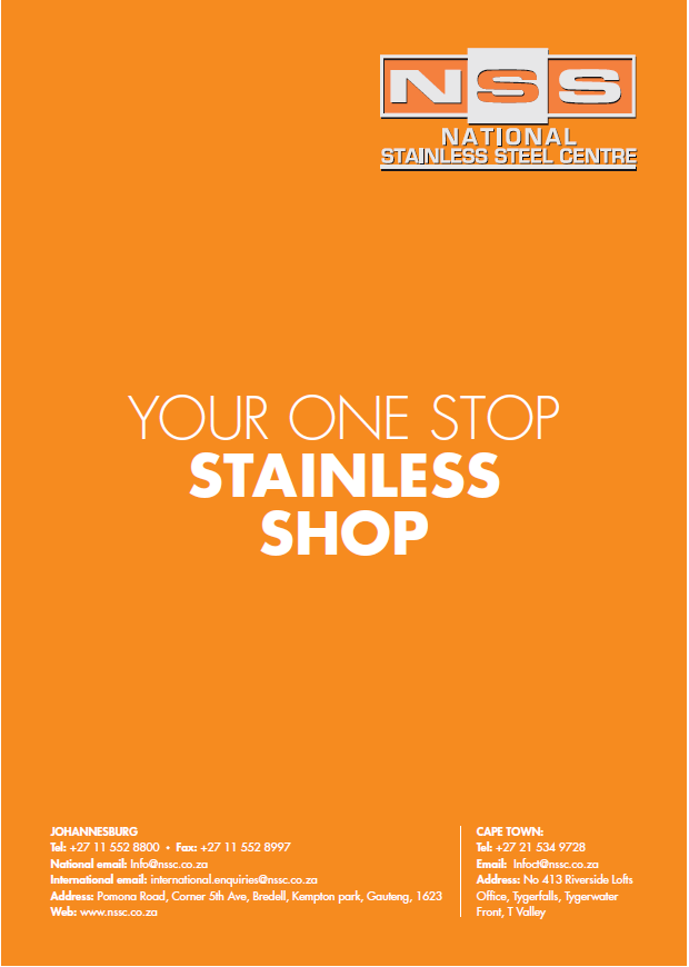 National Stainless Centre Advert