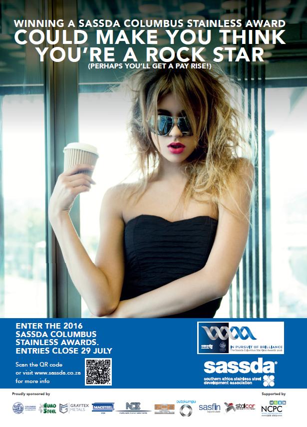 Sassda Awards 2016 Advert