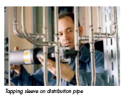 distribution pipe