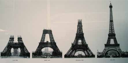the origin and history of the eiffel tower Leaning tower of pisa history on august 9, 1173 originally designed to be a bell tower, the tower actually stood upright for over 5 years.