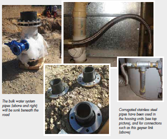 SA Stainless Steel Water Pipes Case Study