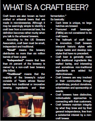 Craft Beer Industry Spectrum