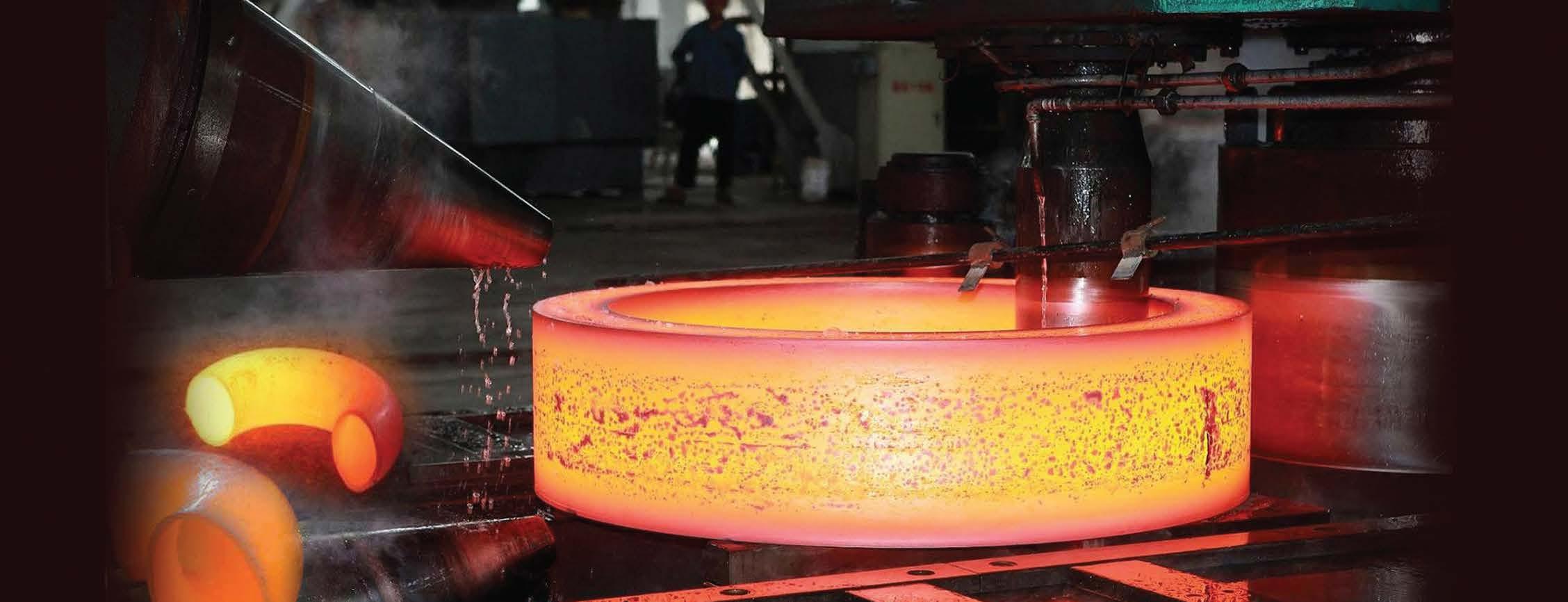 Hot forging metal 43